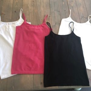 The Limited basic layering camisoles